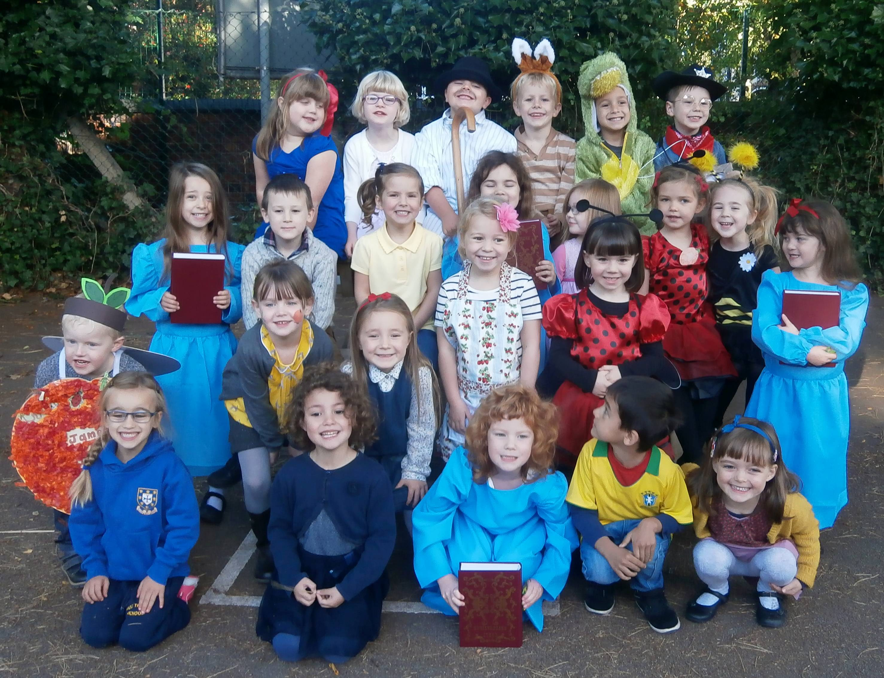 Kidderminster Students Enjoy Roald Dahl Dahlicious Dress Up Day