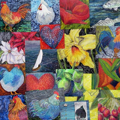 Selection of Artist greeting cards by contemporary Irish artist Mary Wallace