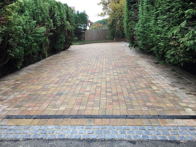 Block paved driveways Bisley