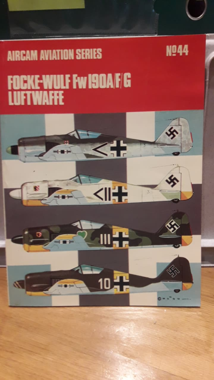 Focke-Wulf Fw 190A/F/G - Aircam aviation series