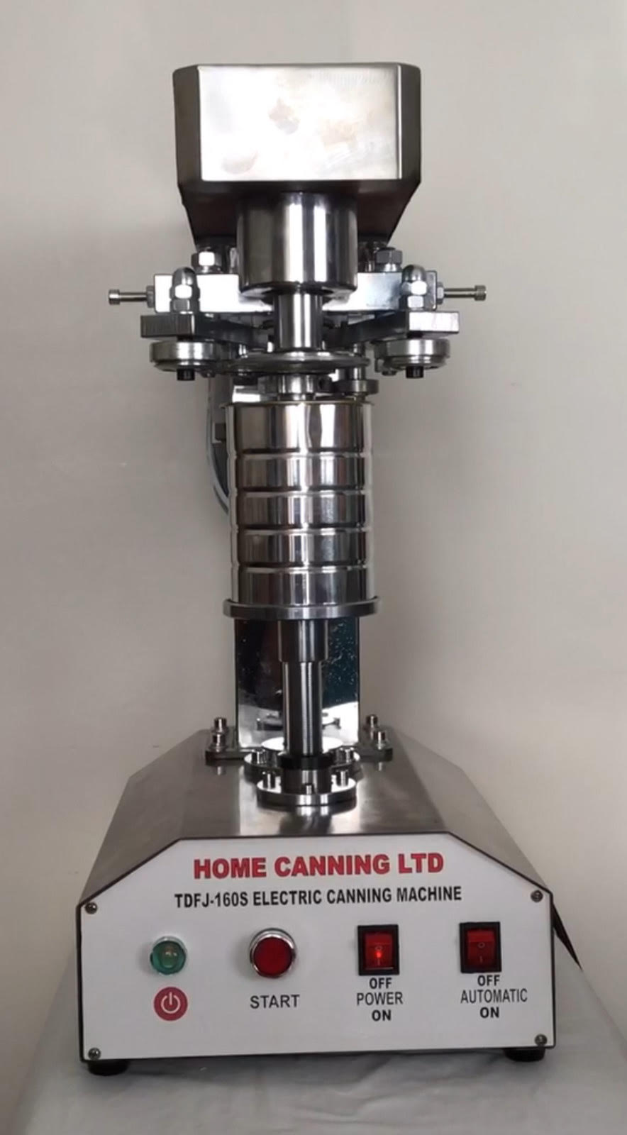 New 2019 Stainless Steel Semi-Automatic Home Canning Machine 99mm Diameter