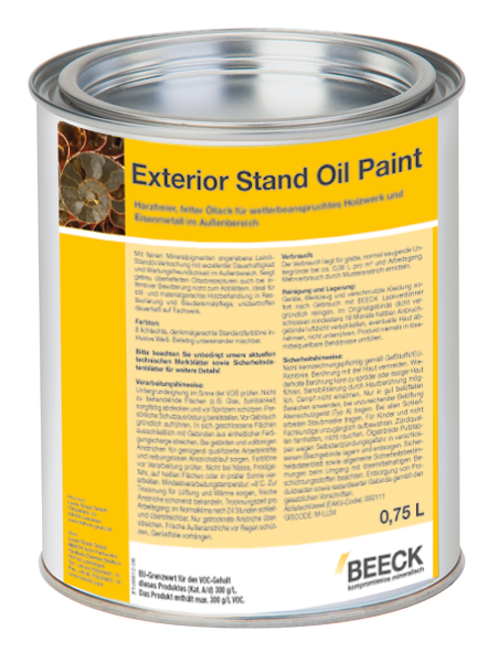 Beeck Exterior Stand Oil Paint