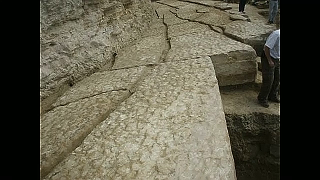 Bosnian pyramid concret pathways
