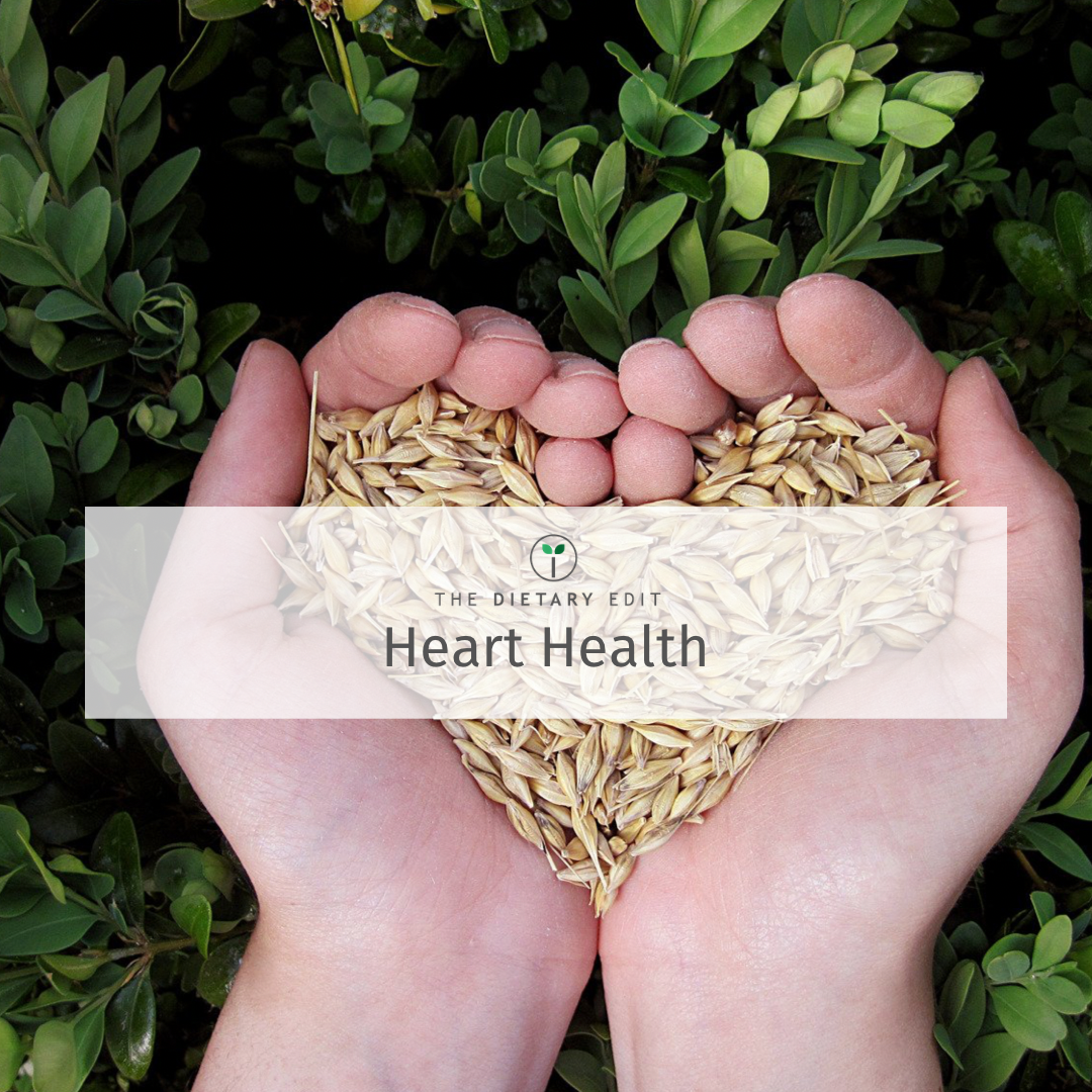 hands holding grains in a heart shape