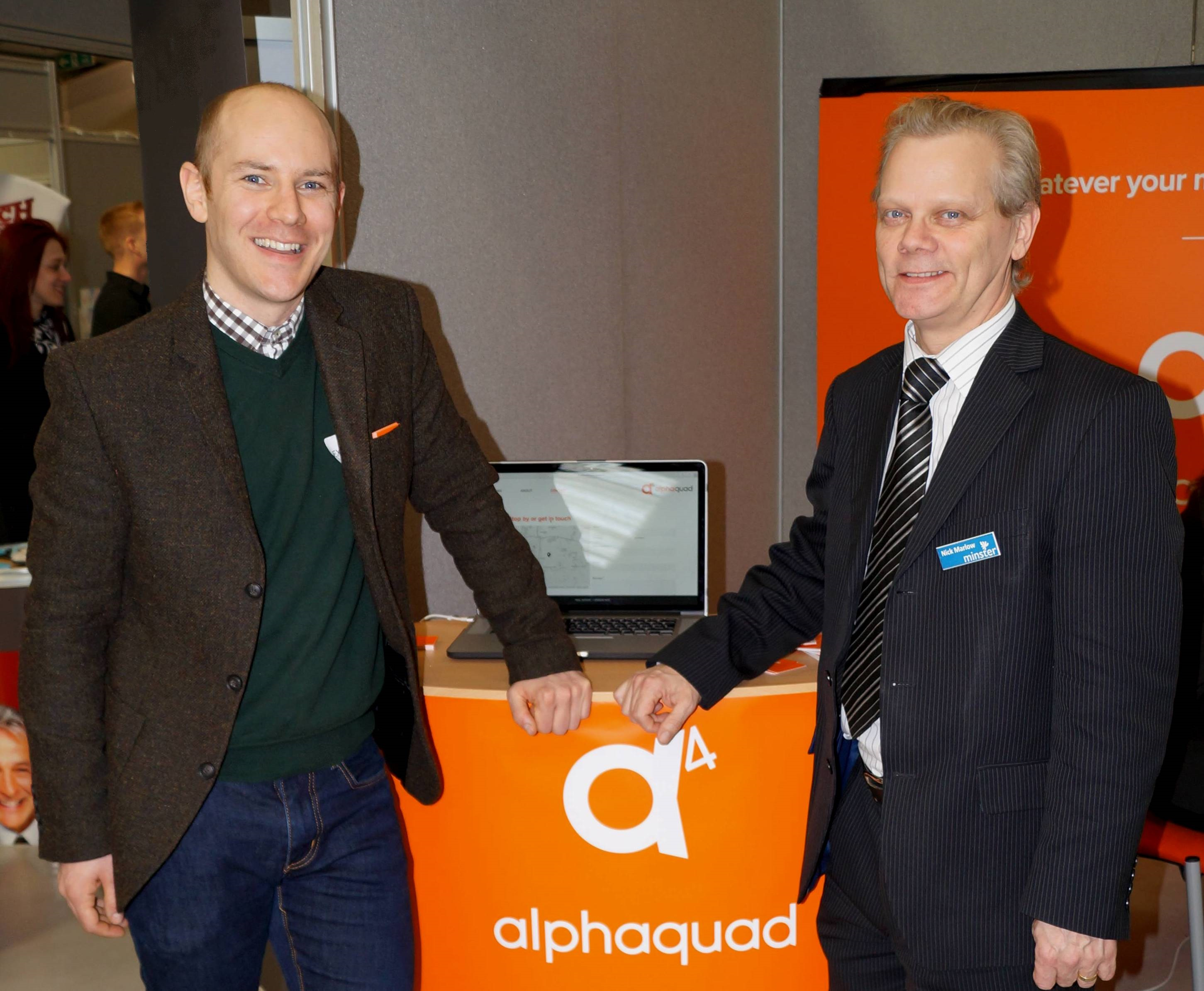 Minster Micro Computers delivers flexible working for Alphaquad