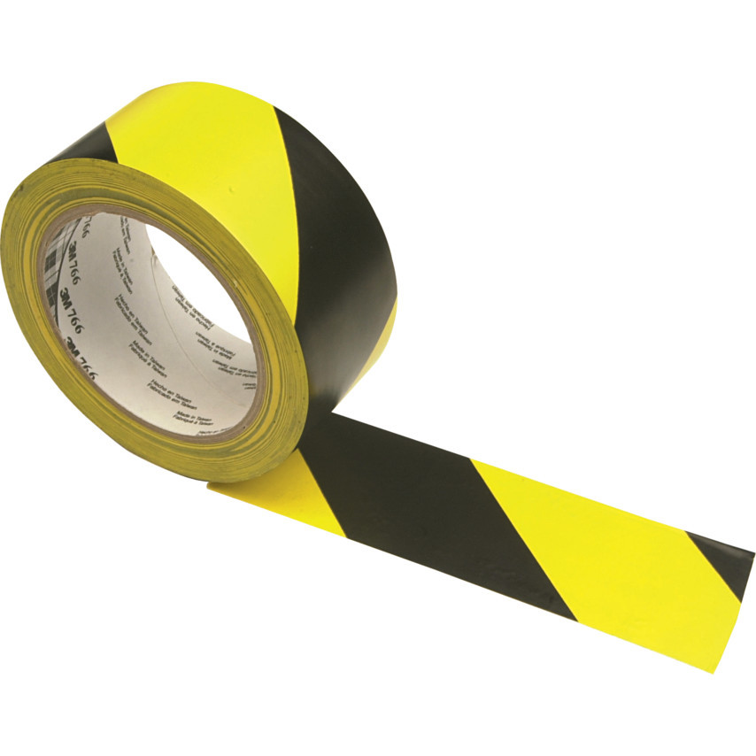 Yellow/Black Hazard Tape