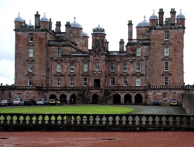 Drumlanrig Castle, Thornhill, home to the annual Galloway Country Fair