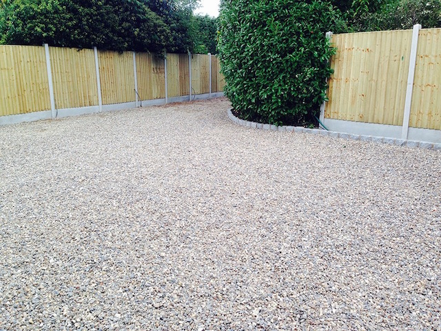Aggregate driveways Weybridge