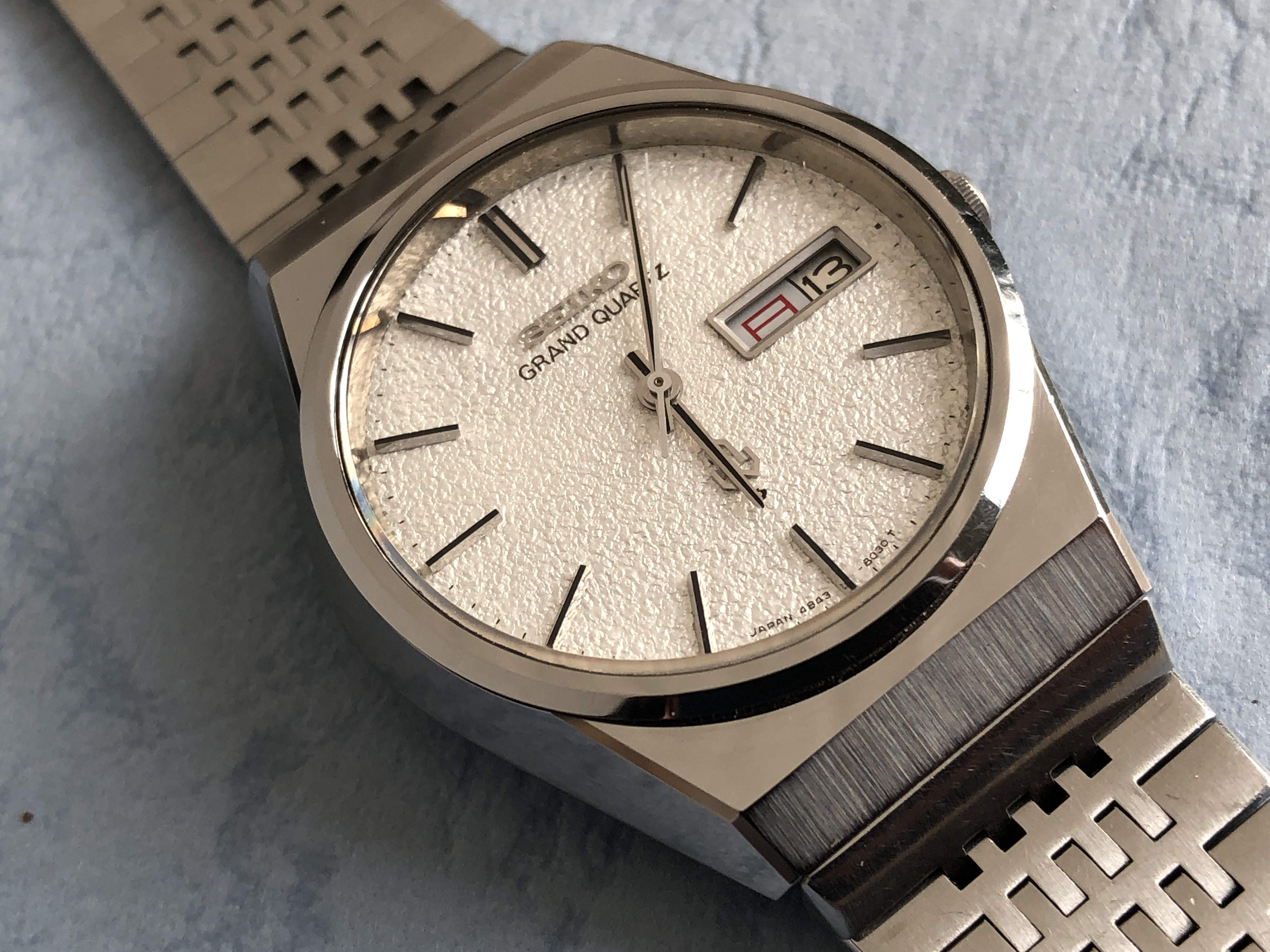 Seiko Grand Quartz 4843-8100 (Sold)