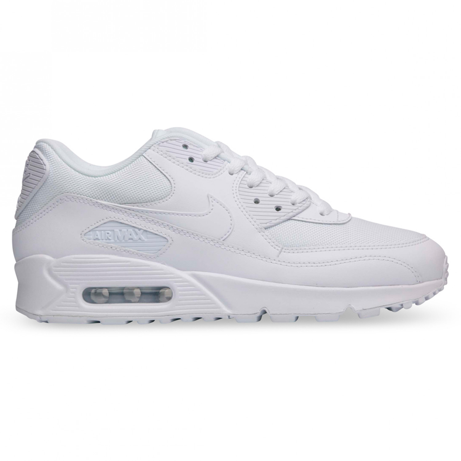 Nike Air Max 90 Triple White-MESH