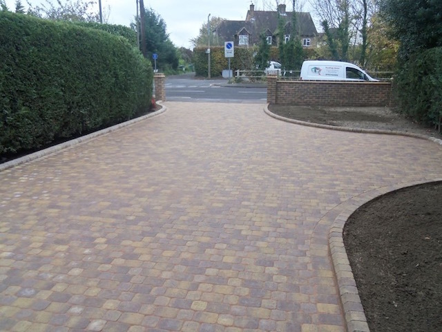 Block paved driveways Walton-on-Thames, Surrey