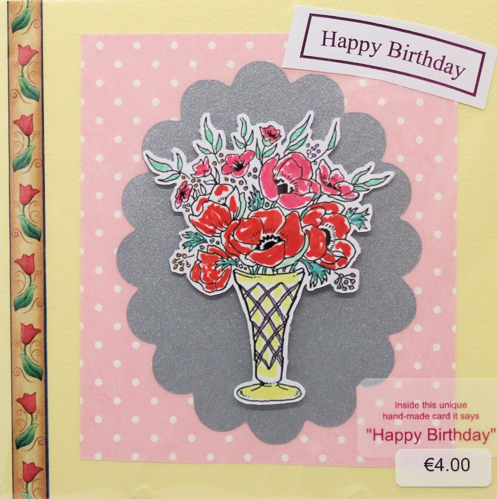 Handmade 'Happy Birthday' Card - 31