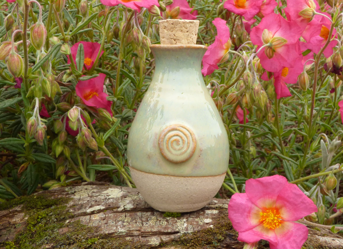 Handmade ceramic irish keepsake