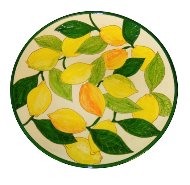 Lemons Design Ceramic Platter