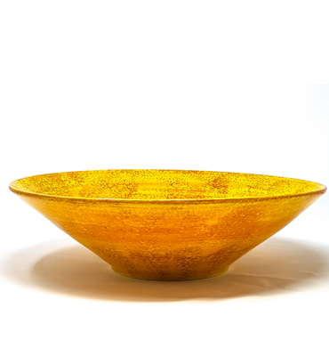 Sunflower Large Conical Bowl