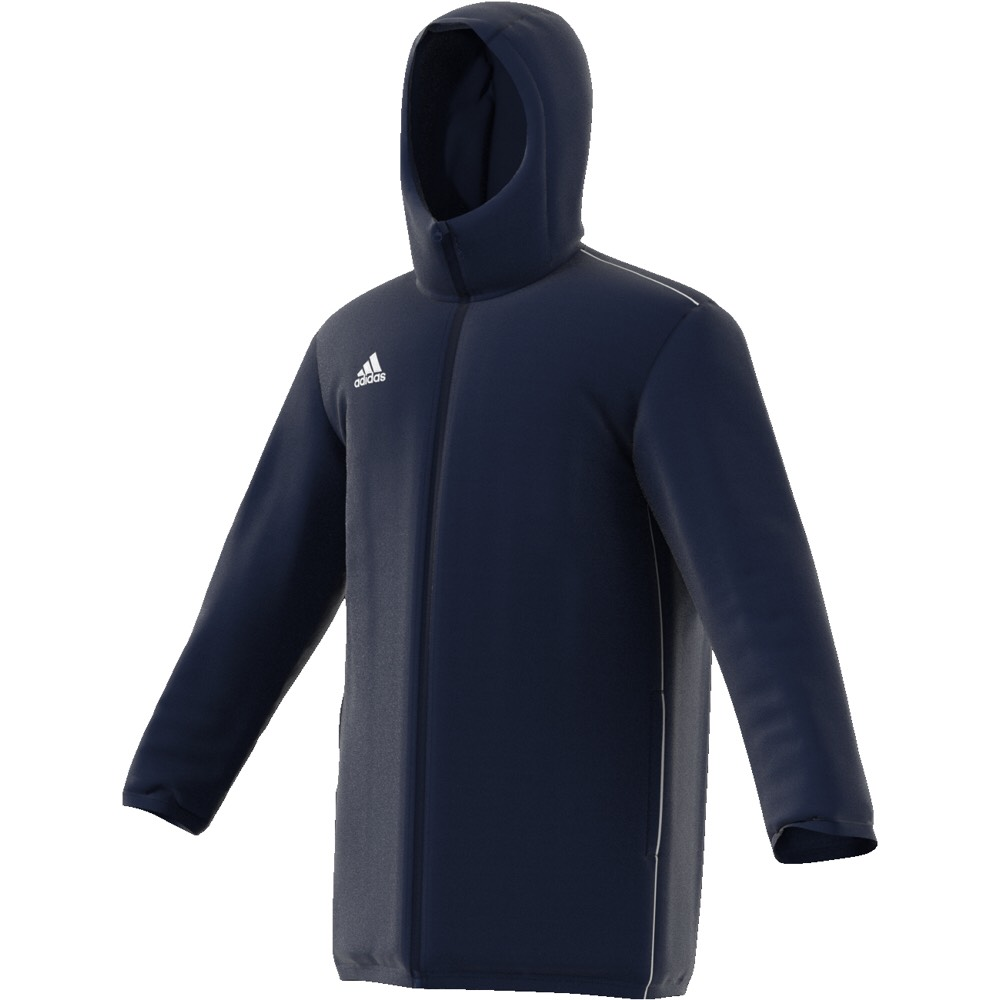 Adidas Core 18 Jacket Navy-White