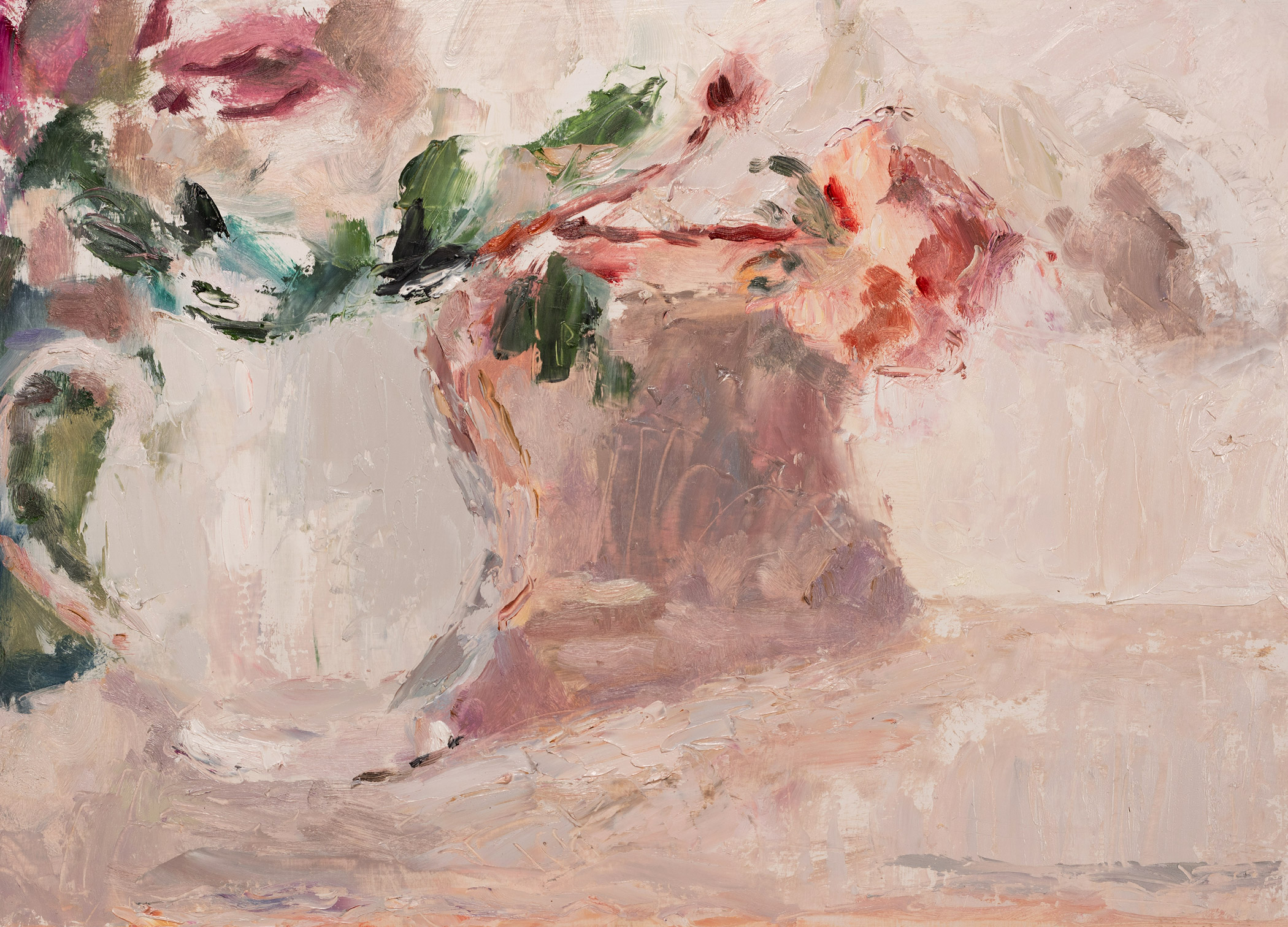 Rose in a White Jug