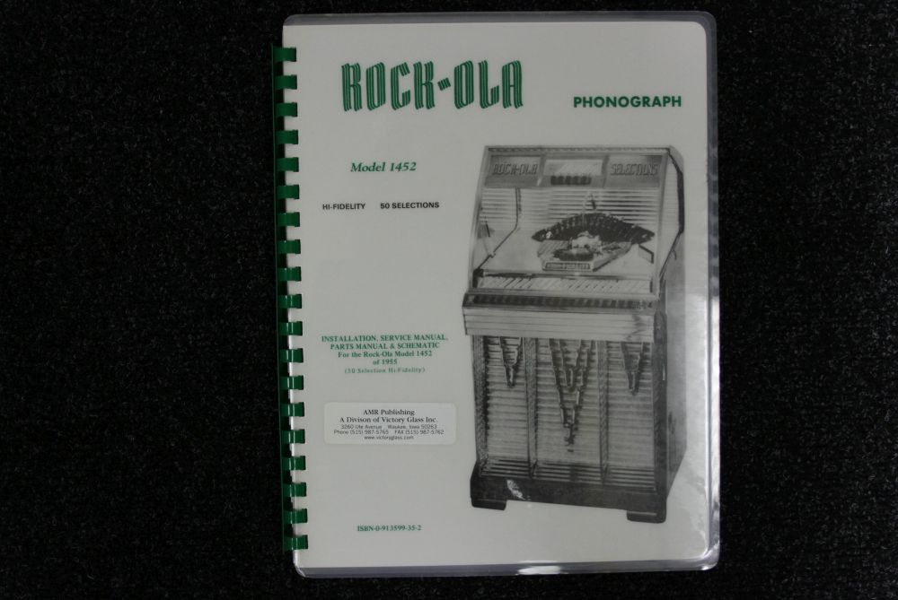 Rock-ola - Installation, Service and Parts Manual & Schematic