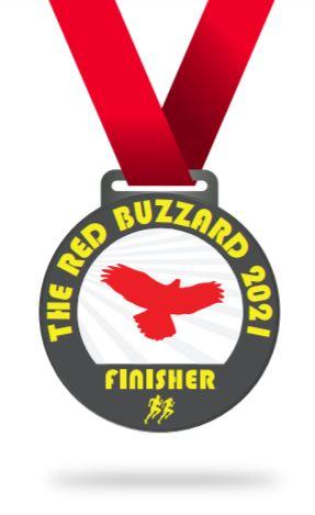 The Red Buzzard race medalJPG