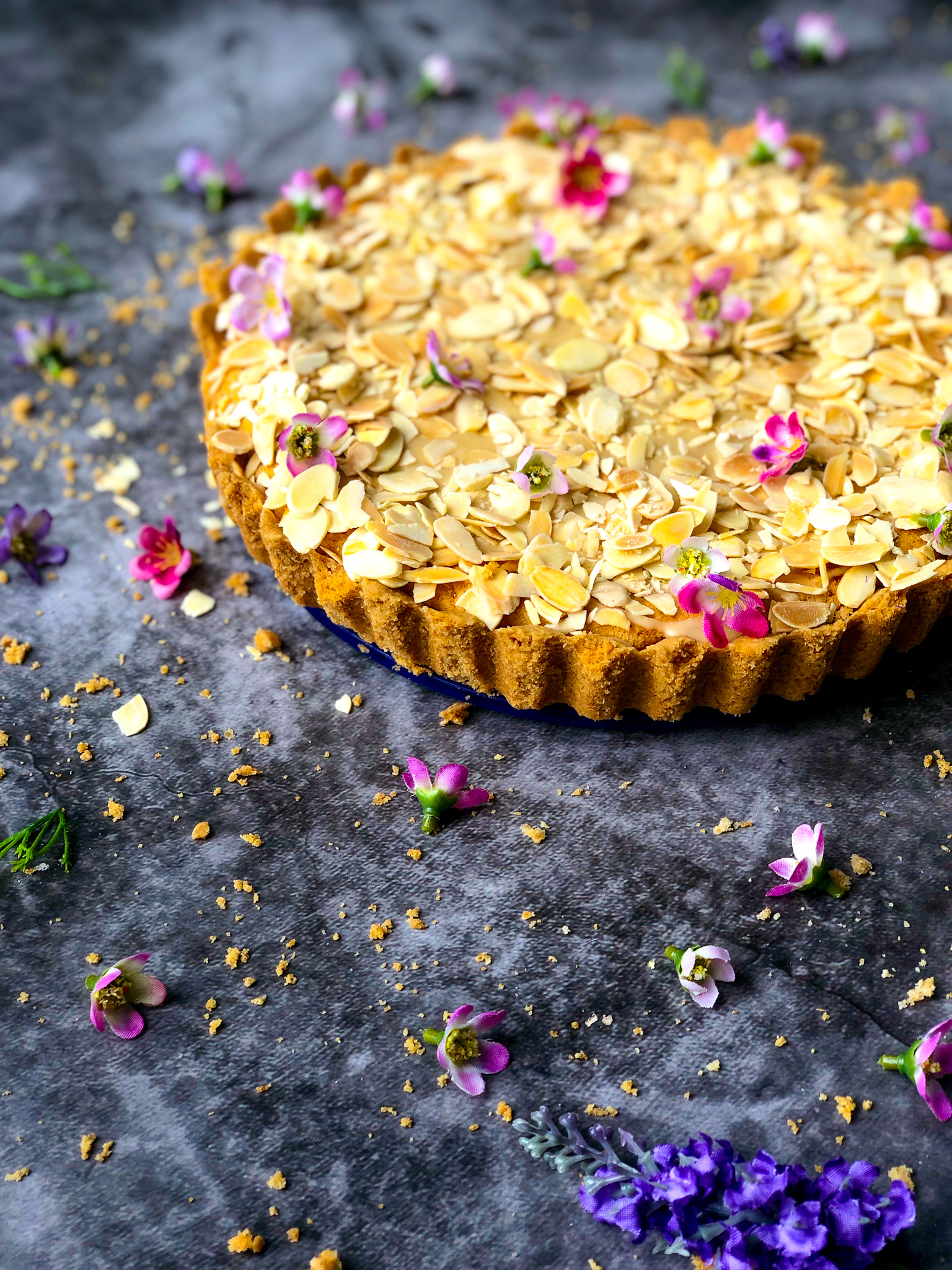 The easiest bakewell tart recipe ever, healthy bakewell tart, spelt flour bakewell tart, delicious spelt flour recipes