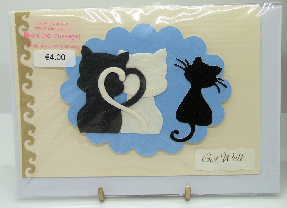 Handmade 'Get Well' Card - 60