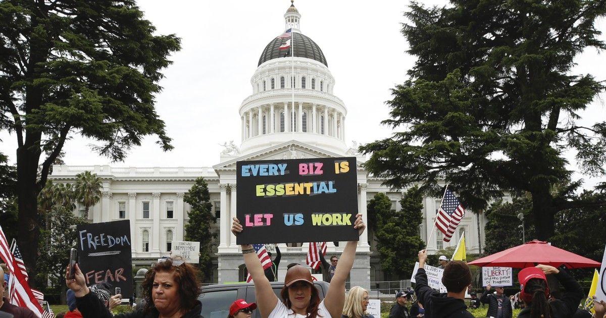 Sac state capitol april 2020 protestsjpeg