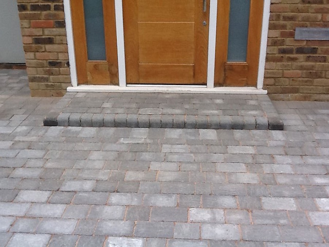 Block paved driveways West Byfleet