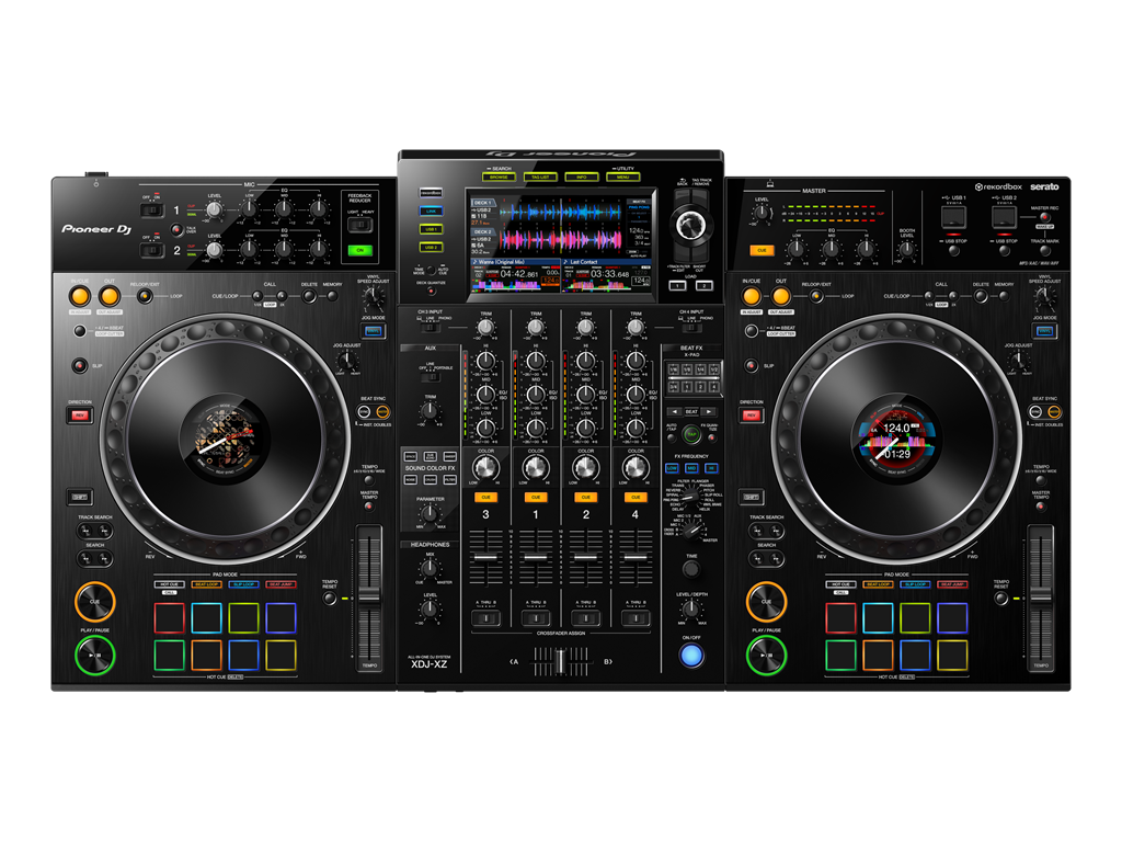 SERATO now compatable with Pioneer XDJ-XZ