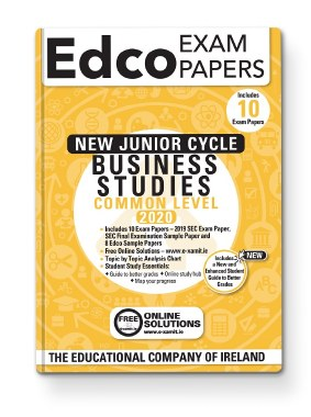 BUSINESS STUDIES JC EXAM PAPERS - COMMON LEVEL - EDCO