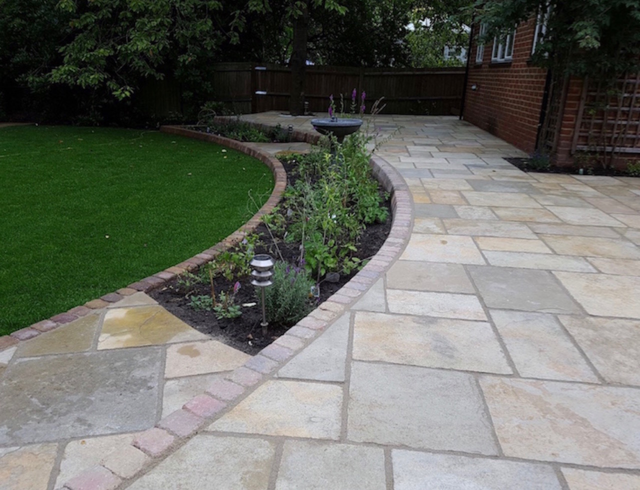 Quality Natural Stone Patios