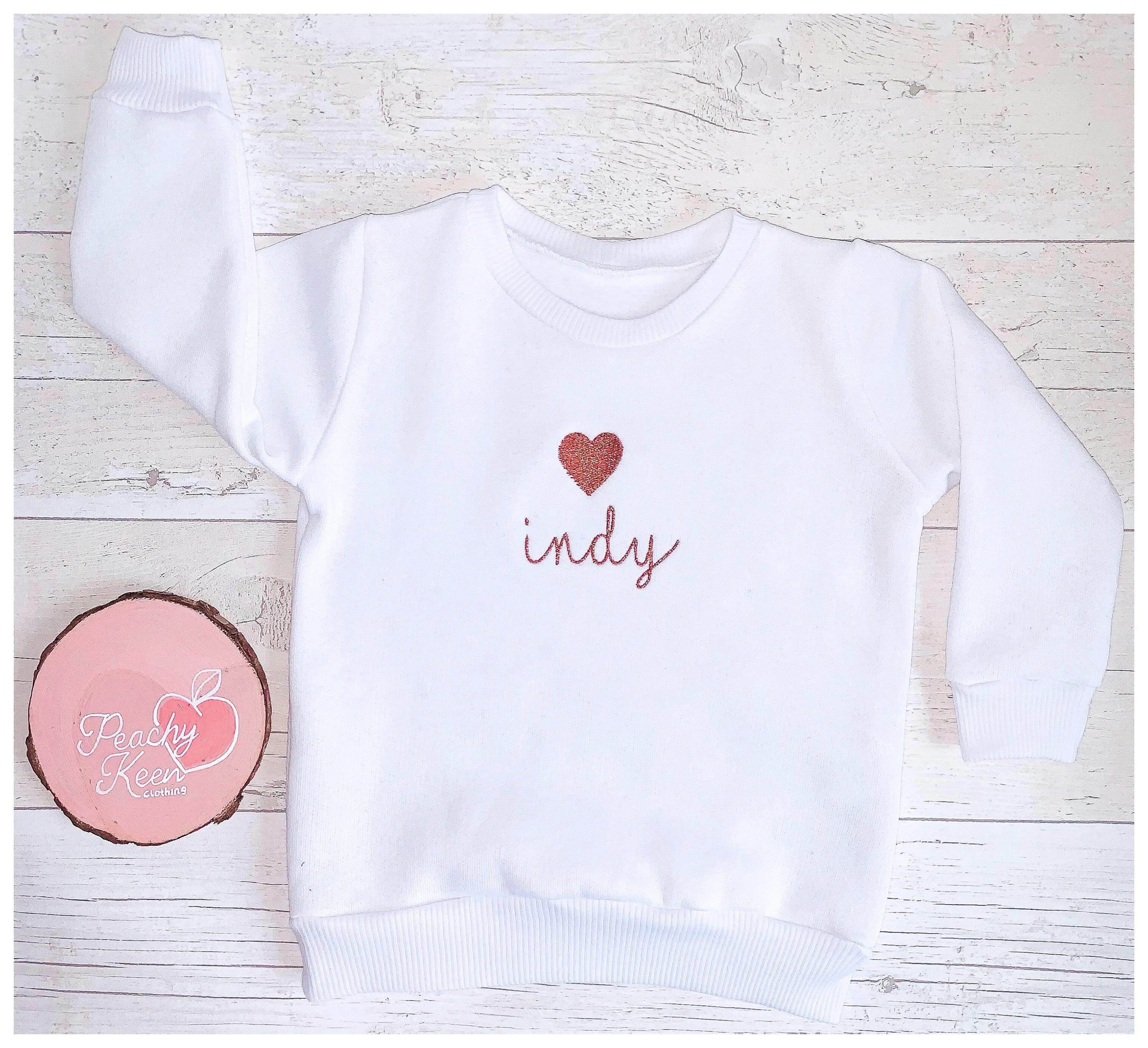 Copper Heart Sweatshirt
