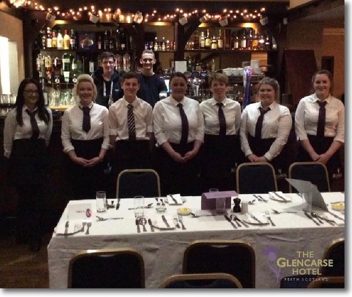 Our waiting staff can cater for celebrations such as birthdays and wedding anniversaries