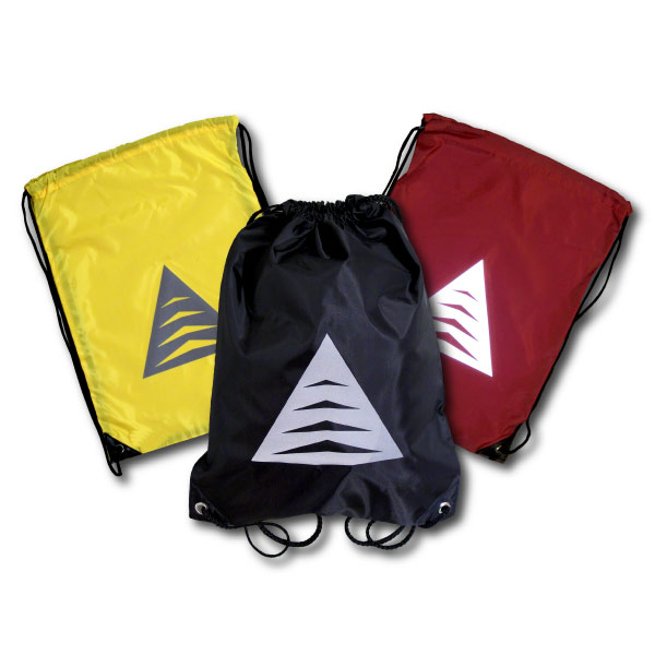 Drawstring Backpacks with Reflective Triangle