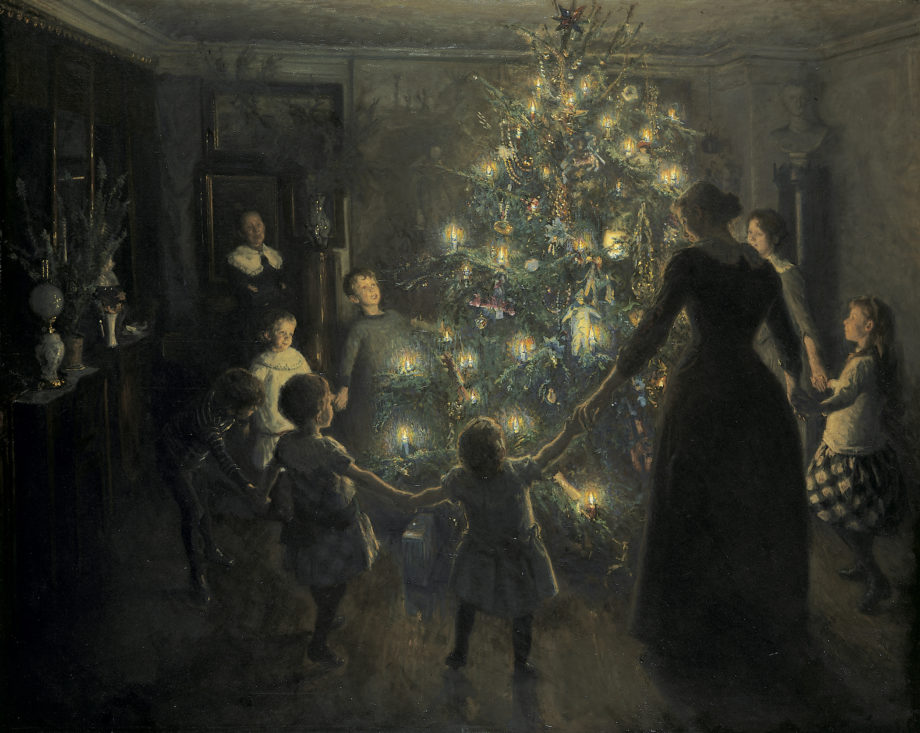Kerstfeest in de kunst