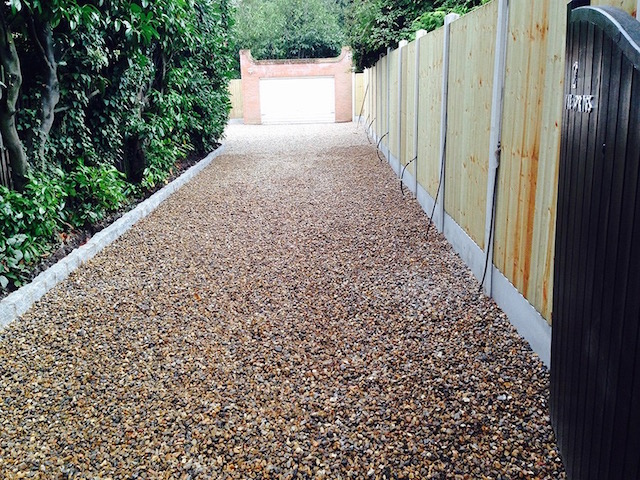 Gravel driveways Weybridge