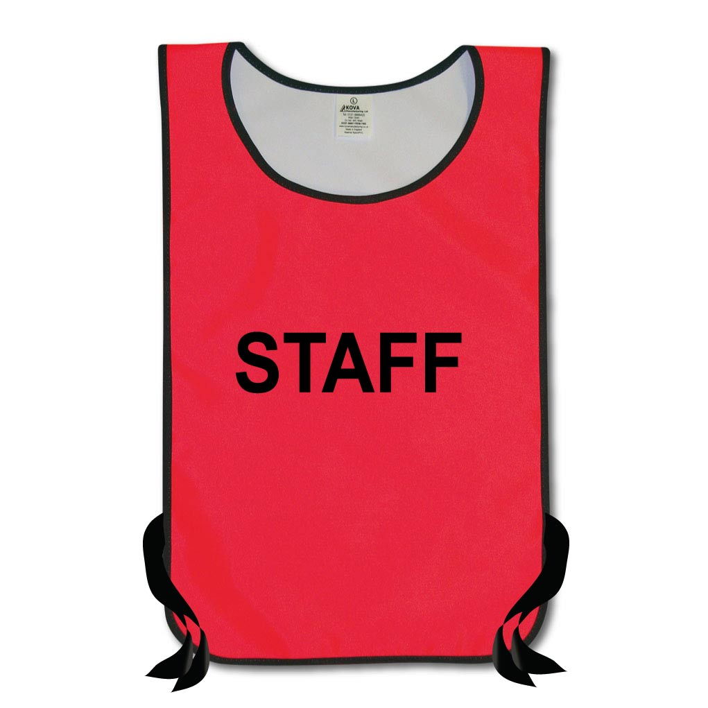 Hi Vis Staff Tabards
