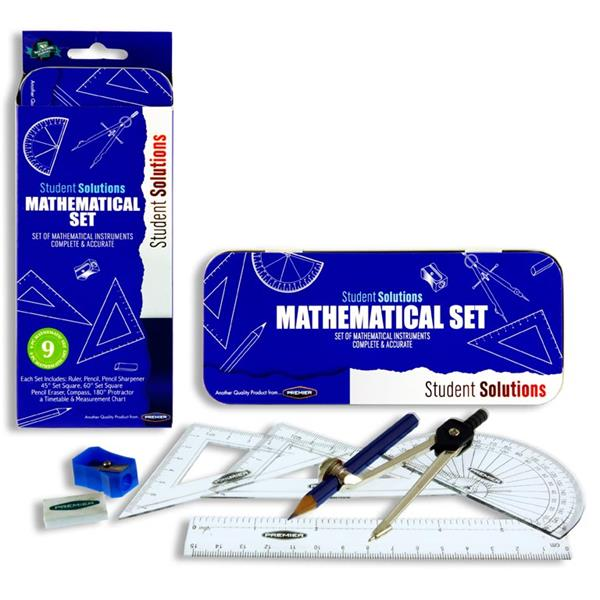 MATHS Set - Assorted Colours