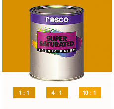 Rosco Supersaturated Paint Yellow Ochre 5982 5 Litre