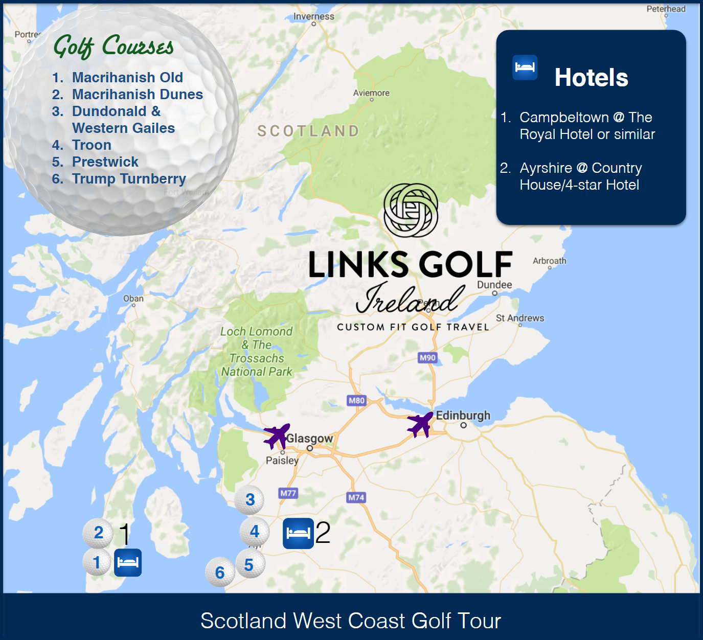 The amazing Ayrshire coast where your golf vacation will ... on auchterarder scotland map, scotland map 1500, queensferry scotland map, scotland map large, maryland golf map, irish golf map, japan golf map, new zealand golf map, england golf map, scotland cell phone coverage map, gleneagles scotland map, scotland football map, scotland map 1600, sycamore trails disc golf map, louisiana golf map, mexico golf map, australia golf map, united states golf map, scottish golf map, iceland golf map,
