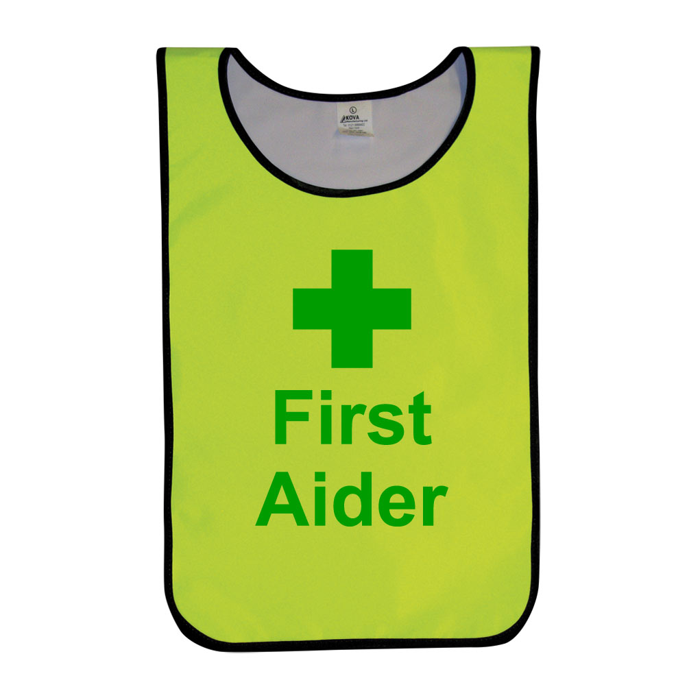First Aider Tabards