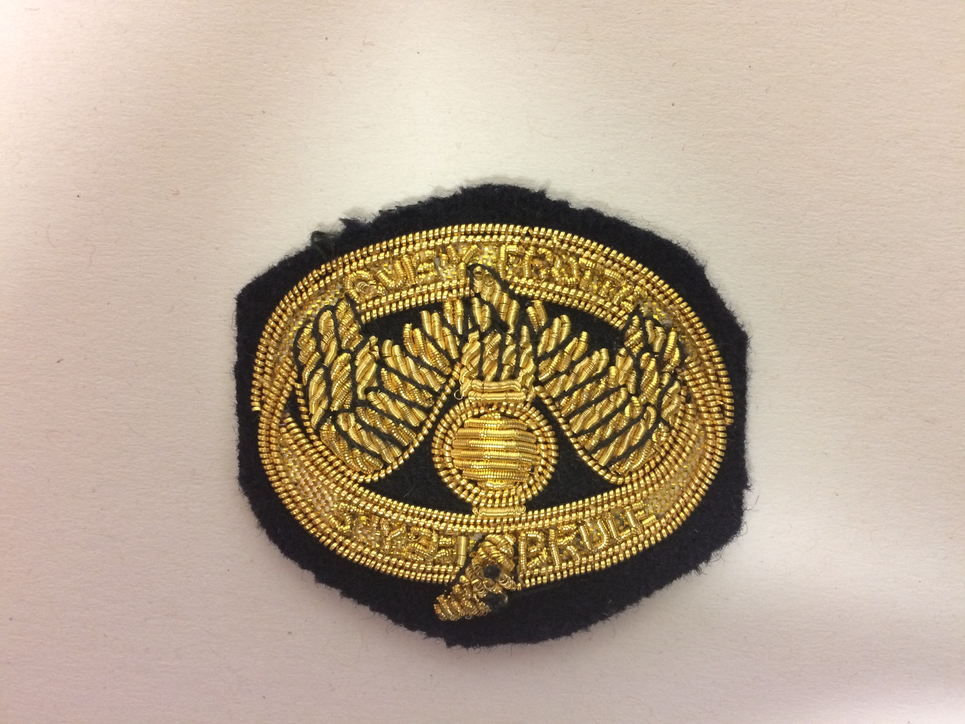 WO & Sgts Mess Badge (0230 B4)