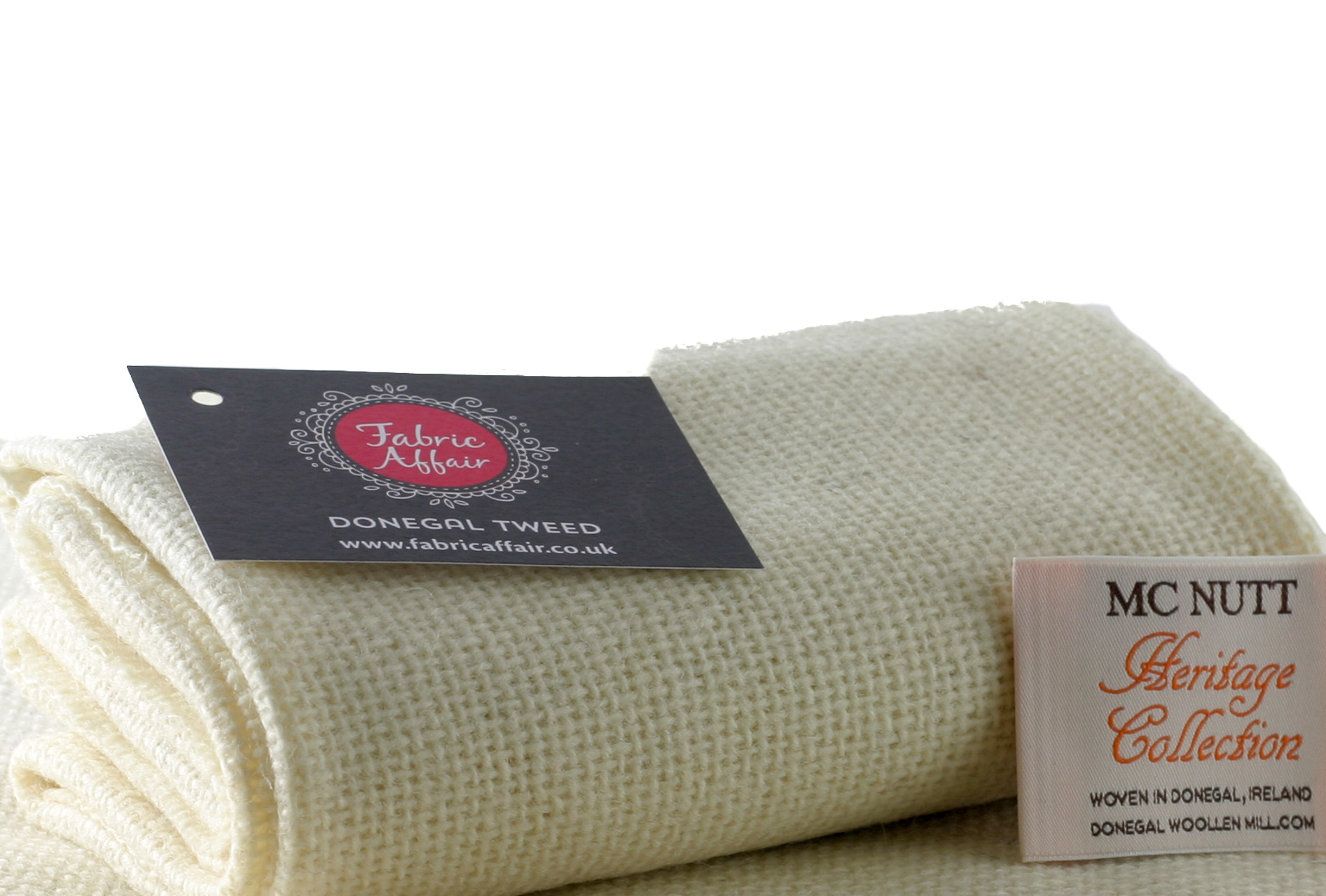 Donegal Tweed by Fabric Affair: Heritage Collection, Bainin.