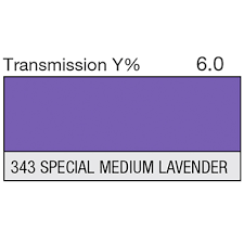 Lee 343 Special Medium Lavender