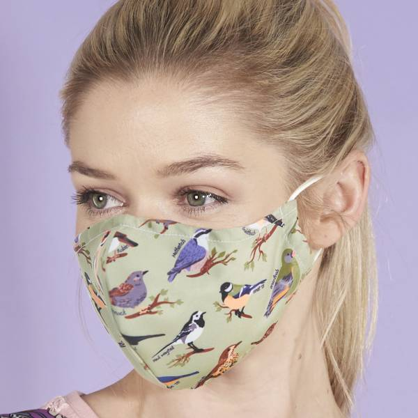 BIRDS Eco Chic Reusable Face Cover