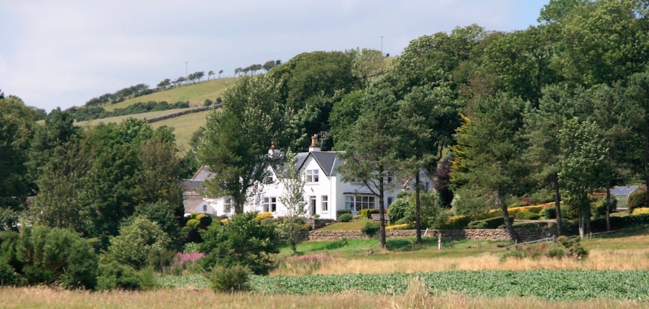 A view of East Challoch Farm