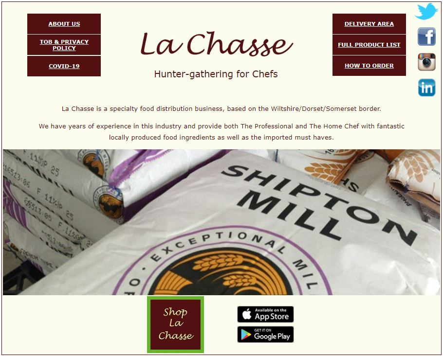 Bini Curries are now available Online through Le Chasse Limited