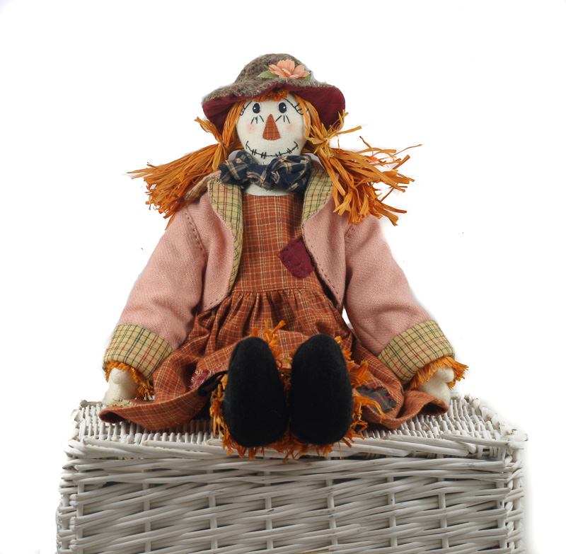 Donegal Tweed by Fabric Affair:Bridie Scarecrow Kit.