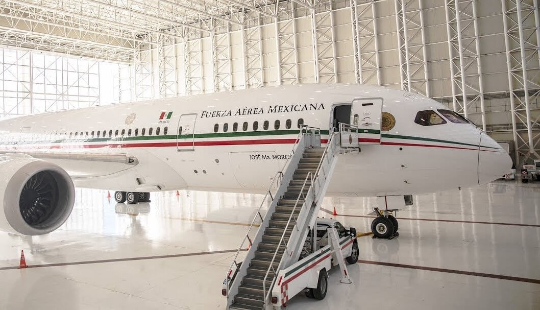 Mexico Government to sell/barter Boeing 787 BBJ