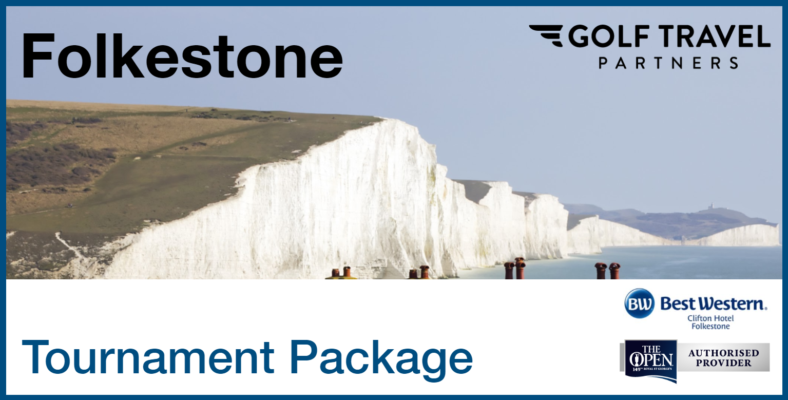 Attend the 2020 Open - 5 Night Tournament Package - Folkestone (36 mins to Sandwich)