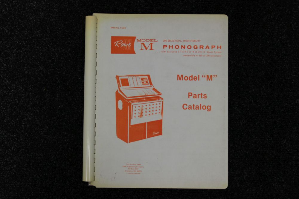Rowe AMI - Parts Catalog - Model M